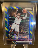 2018/19 Panini Prizm Jr Smith Choice  Blue Yellow Green #180 Cavs NBA Champion