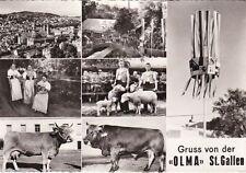 """* SWITZERLAND - Gruss von der """"Olma"""" St.Gallen 1966"""