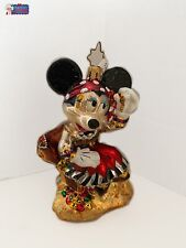 Christopher Radko Ornament Disney Pirate Minnie 3011772. Very Rare.