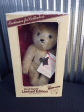 Althans Teddy Bear Mohair Plush Jointed Limited Edition Germany