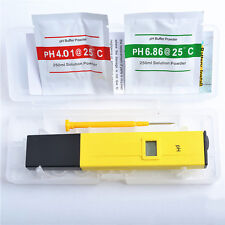 Digital LCD pH Meter/Tester/Pocket/Pen Pool/Pond Water - Drinking Water NEW