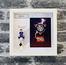 Minifigure Display Frame Lego Ideas Range Back to the Future 21103 minifigs