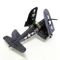 1:33 U.S. F4U-1A Pirate Shipborne Fighter DIY 3D Paper Card Model T U_X
