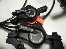 Shimano deore 486 disc brakes hydraulic set front and rear several available
