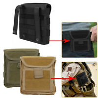 New Hunting Hiking Military Tactical Molle Admin Magazine Mag Storage Pouch Bags