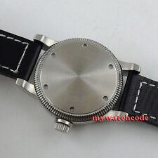 46mm corgeut black dial 6497 movement hand winding watch C58