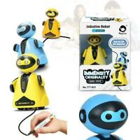Follow Any Drawn Line Magic Pen Inductive Toy Robot Model +Pen Kinder Geschenk