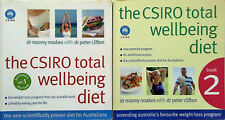 THE CSIRO TOTAL WELLBEING DIET BOOKS 1 & 2 -  Healthy Weight Loss - Recipes