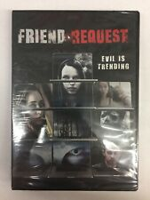 Friend Request (DVD, 2018)**New, Free Shipping **
