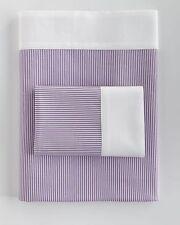 Ralph Lauren ~ QUEEN 4Pc Sheet Set ~ Great Compton Fairview ~ Purple Stripe $405