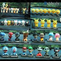 Bobble Head Dog Animals DBZ Nodder Wobbler Anime Cute 3D Dashboard Toy Figure