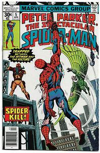 SPECTACULAR SPIDER-MAN#5 VF/NM 1977 MARVEL BRONZE AGE COMICS