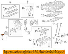 GM OEM Engine-Harmonic Balancer Bolt 11549124
