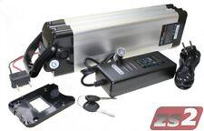 Akku 36V 10Ah LI Ersatzbatterie mit Ladegerät für E-Bike Pedelec von Mifa