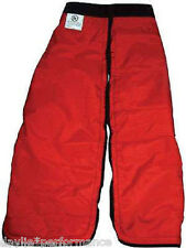 "Chainsaw Safety Chaps - Protective Pants Large 40"" safety pants chainsaw gear"