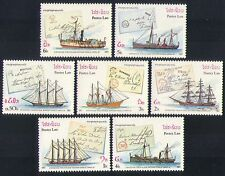 Laos 1987 Sailing Ships/Paddle Steamers/Nautical/Boats/Transport 7v set (b8024)