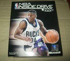 RETROGAME PC: NBA INSIDE DRIVE 2000 ORIGINALE BOXATO!