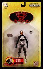"""2007 DC DIRECT SUPERMAN/BATMAN PUBLIC ENEMIES 2 SERIES 3 STEEL 6"""" FIGURE MOC"""
