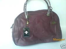 Damentasche Henkeltasche Handtasche Bag Damen Tasche Rubin Rot Shopping Bag NEU