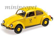 MINICHAMPS 150 057195 1983 VW VOLKSWAGEN BEETLE 1200 DEUTSCHE BUNDESPOST 1/18 Y