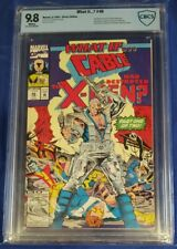 WHAT IF # 46 CBCS 9.8 wp CABLE HAD DESTROYED THE X-MEN? * MARVEL not cgc