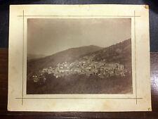 antica foto di Aritzo ( Nuoro )  fine '800 primi '900 -  17 x 23 cm      11/4/16