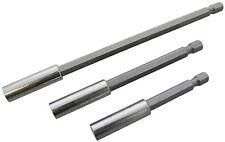 """3pc magnétique porte-embout défini tournevis 7.5, 10 et 15 cm 1/4 """"bits titulaires"""