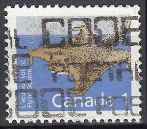 Kanada gestempelt Tier Gleithörnchen Hörnchen Wildtier Fauna Natur Tierwelt / 48