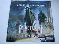REGLES DE JEU  DE  OPERATIONS EN AFRIQUE/AFRICA CYCLE /FIRETEAM ZERO