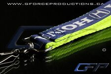 YELLOW Premium Honda Wrist/Palm Lanyard JDM Civic S2000 Prelude Integra RSX