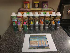 Hydrofarm Fox Farm Dirty Dozen Liquid Nutrient Starter Kit 3oz bottles