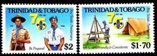 TRINIDAD 1986 SCOUTS SC#451-52 MNH UNIFORMS, COSTUMES