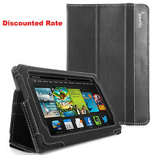 """Poetic Kindle Fire HD 7"""" Inch (2013 Model) Stand Cover Case Folio - Slim Book"""