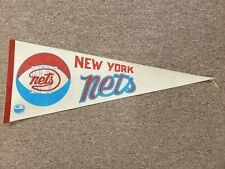1970's New York Nets ABA Basketball Pennant