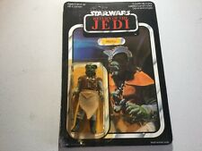 65 BK Star Wars Rotj Klaatu Palitoy cardada Moc Figura De Juguete