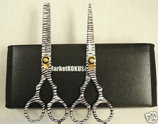 2 PCS Professional Barber Hair Cutting Hairdressing + Thinning Scissors Set 6""