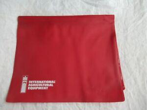 1979 International Harvester plastic document holder / pouch farmall equipment