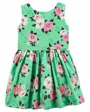 Carter`s Floral Party Special Ocassion Birthday Sateen Dress Size:8