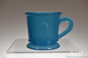 "ca. 1870s ATTERBURY MEDALLION AKA CERES by Atterbury 2.5""H BLUE Child's Mug"