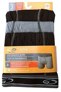 "C9 by Champion BOYS  boxer briefs 3-Pack ""ACTIVE Performance"" DUO DRY  NEW"