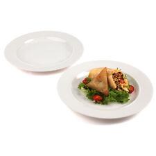 Alessi COMBO-6529 La Bella Tavola Porcelain Dinner Plates, 27 cm, Set of 18