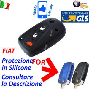 Guscio Protezione Cover Silicone PFI2 Flip Chiave Telecomando FIAT 3 Tasti
