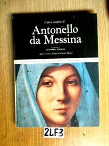 CLASSICI D'ARTE RIZZOLI ANTONELLO DA MESSINA    (24F3