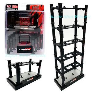 M2 Machines 1:64 Auto-Lift ADVAN Yokohama Stackable Auto Lift 5 Pack - Mijo