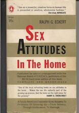 SEX ATTITUDES IN THE HOME ~ POPULAR LIBRARY G224 1958 RALPH G. ECKERT