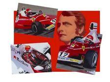 Canvas Niki Lauda 3 times World Champion by Toon Nagtegaal (LE)