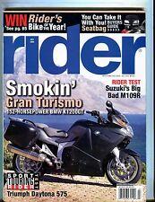 Rider Magazine July 2006 BMW K1200GT EX No ML 051017nonjhe
