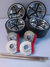 JADA LOPRO 1/24 SCALE WHEELS FOR REPAIRING FITS 2010 CHEVY CAMARO SS