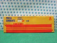 Slot Car 1/43  -  RETTILINEO  con presa di corrente - Policar 721/DN   MIB