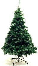 6 Foot Artificial Green Christmas Tree, Free Metal Stand, 800 Tips, New in Box